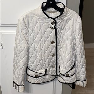 BURBERRY Jacket with removable belt